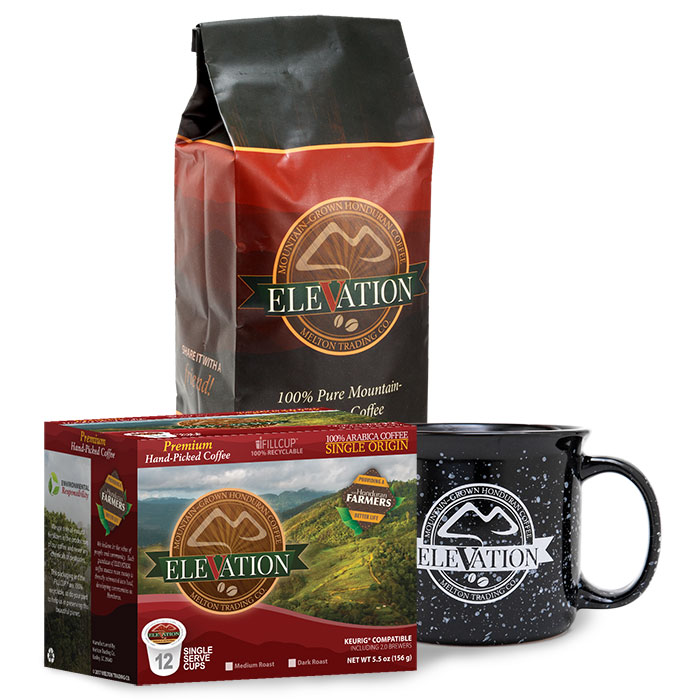 elevation coffee sler with mug melton trading co
